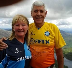 Lisa and David