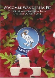 WWFC Great War Tour 2014