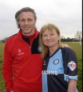 Lisa and Gareth