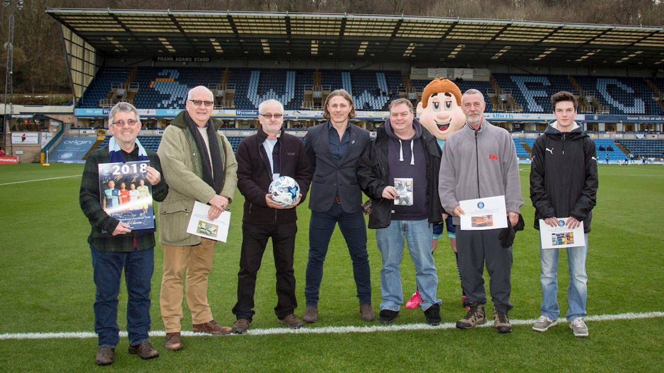 7987934d1ca Wycombe Wanderers fans have had the chance to win exclusive prizes from the   Twelve Draws of Christmas